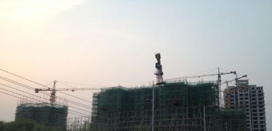 新鲜热乎出炉~东台滨河壹号工程进度