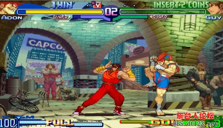 酷似托尼贾的泰拳王 街霸系列游戏 东台123 东台123图片